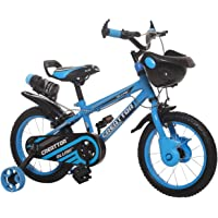 Ollmii Bikes Creattor 14 inches Steel Rim BMX Series Kids Cycle Sky Blue for 3 to 5 Years
