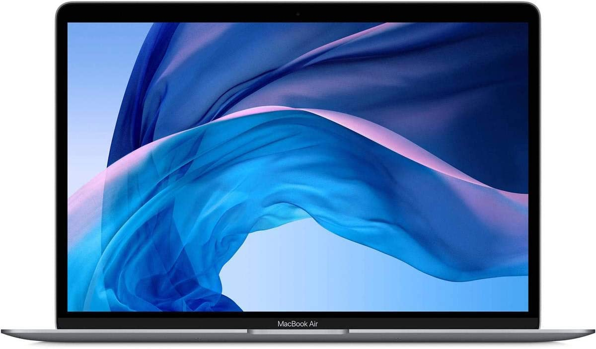 "Apple MacBook Air 13.3"" with Retina Display, 1.1GHz Quad-Core Intel Core i5, 16GB Memory, 256GB SSD, Space Gray (Early 2020)"