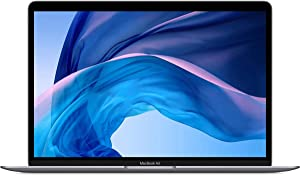 "Apple MacBook Air 13.3"" with Retina Display, 1.1GHz Quad-Core Intel Core i5, 8GB Memory, 256GB SSD, Space Gray (Early 2020) Z0YJ0002F"
