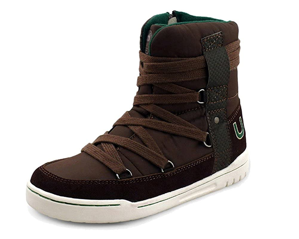 iDuoDuo Kids Casual Short Shaft Boots Side Zipper Waterproof Snow Boots (Little Kid/Big Kid)