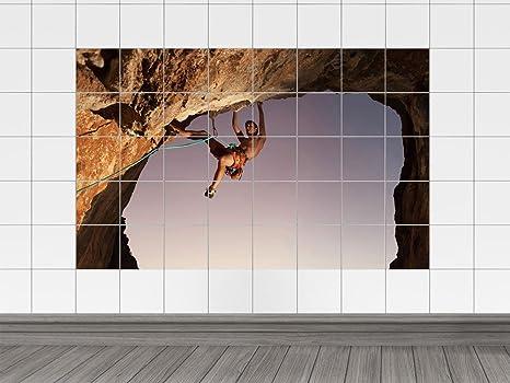 Piastrelle adesivo piastrelle immagine sport montagna arrampicata