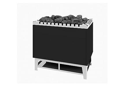 Sauna Horno de Stand Modelo tipo 84 – 24 kW Antracita abrigo