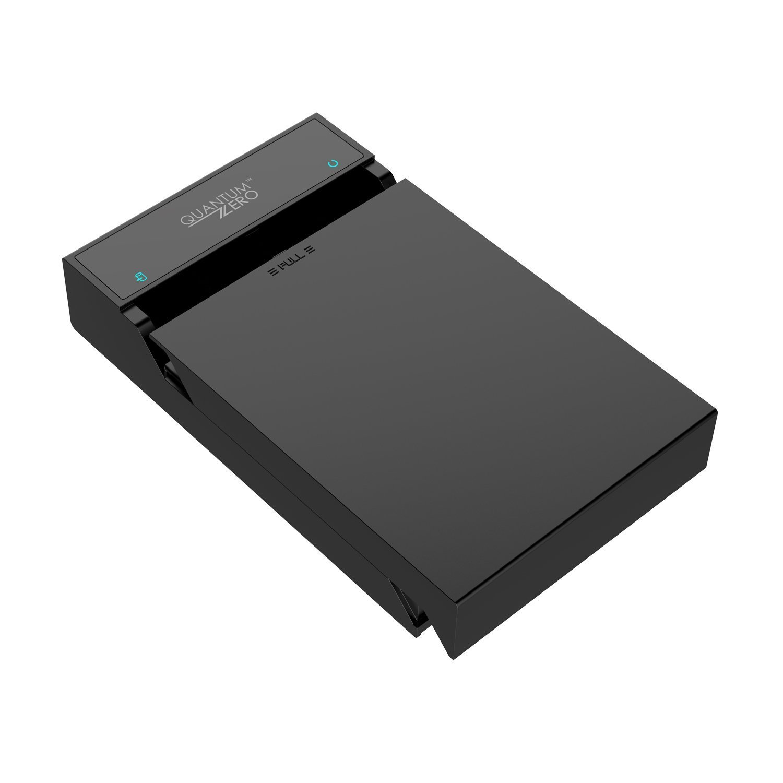 "QuantumZERO QZ-HD01 USB 3.0 SATA Hard Drive Dock Docking Station Enclosure Case for 2.5""/3.5"" SATA I, II, III HDD/SSD/Hybrid drives up to 6TB, Supports UASP [ASMedia ASM1153E Chipset]"
