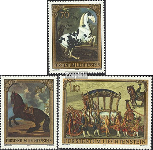 - Liechtenstein 717-719 (Complete.Issue.) 1978 Paintings (Stamps for Collectors) Painting