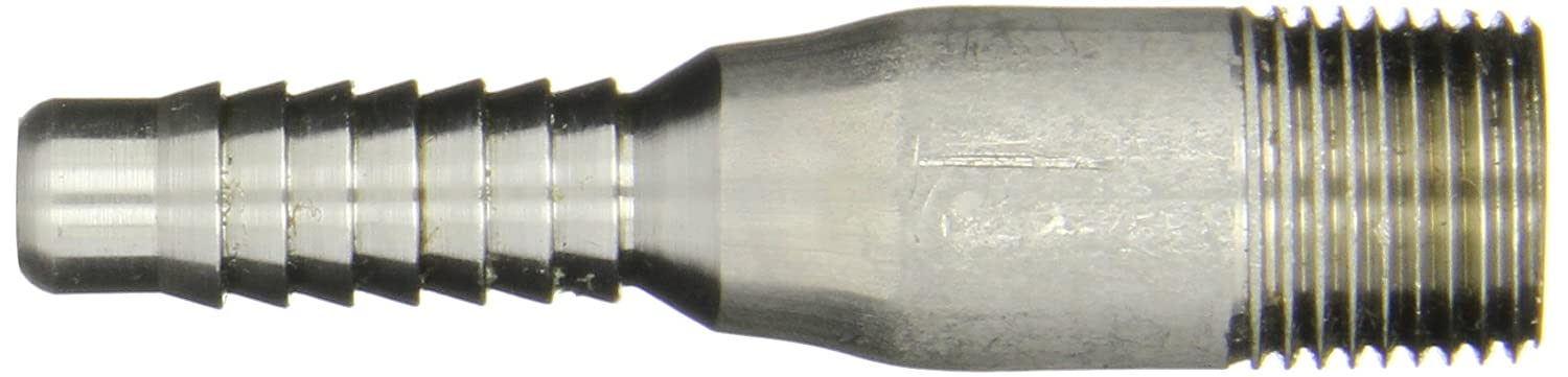 Threaded NPT Campbell Fittings HASS-2 Stainless Steel 316 Hose Fitting 1//2 Hose ID Combination Nipple
