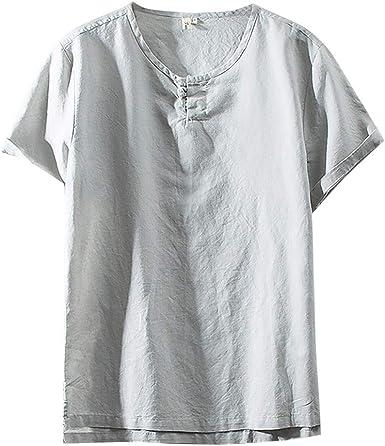 Innerternet-Camiseta de Hombre, Camiseta de Manga Corta con Cuello ...