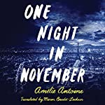 One Night in November | Amélie Antoine,Maren Baudet-Lackner - translator
