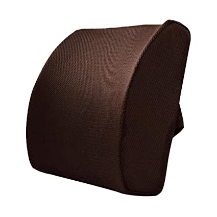 Cojín lumbar de apoyo para silla de oficina y respaldo: Amazon.es: Hogar