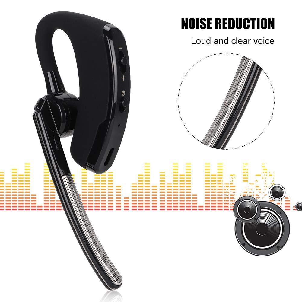 Ciglow Bluetooth Earpiece, Portable K-Head Wireless Bluetooth 4.0 Headset Earpiece with PTT Microphone Interphone Bluetooth Headset for All K-Plug Walkie Talkie by Ciglow (Image #8)