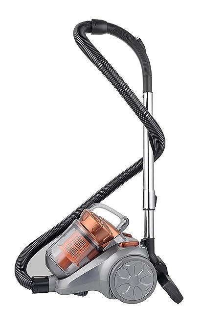 Aspirador Compact Power Multiciclónico sin bolsa Alta Potencia + Filtro de aire Hepa de 2 etapas | Accesorio Especial para Pelos de Mascota | Eficiencia ...
