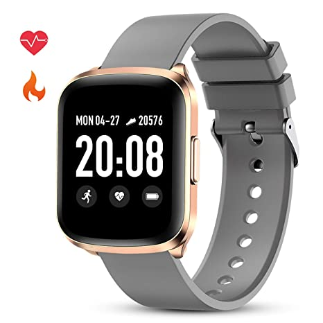 Amazon.com: GOKOO Smart Watch for Men Women Fitness Tracker ...