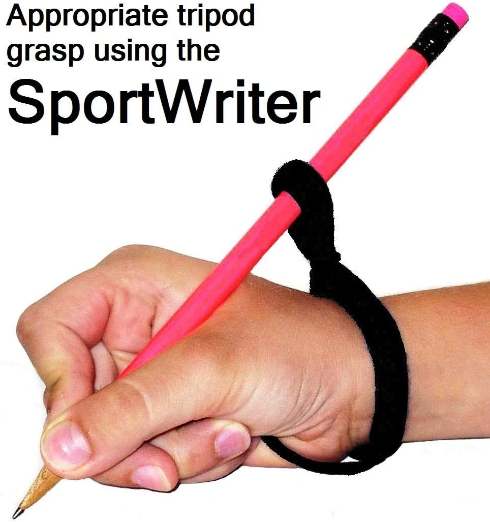 SportWriter 4 Pack (All 4 SportWriters) Designed to facilitate The Correct Positioning and Holding of a Writing Tool. Recommended for Children who Have Inappropriate/Poor Grasp Patterns.