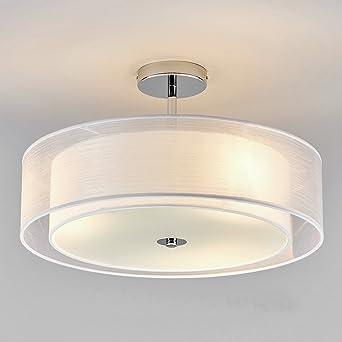 Deckenleuchte Wohnzimmer LED Deckenbeleuchtung Modern E27 Lampe 3 ...