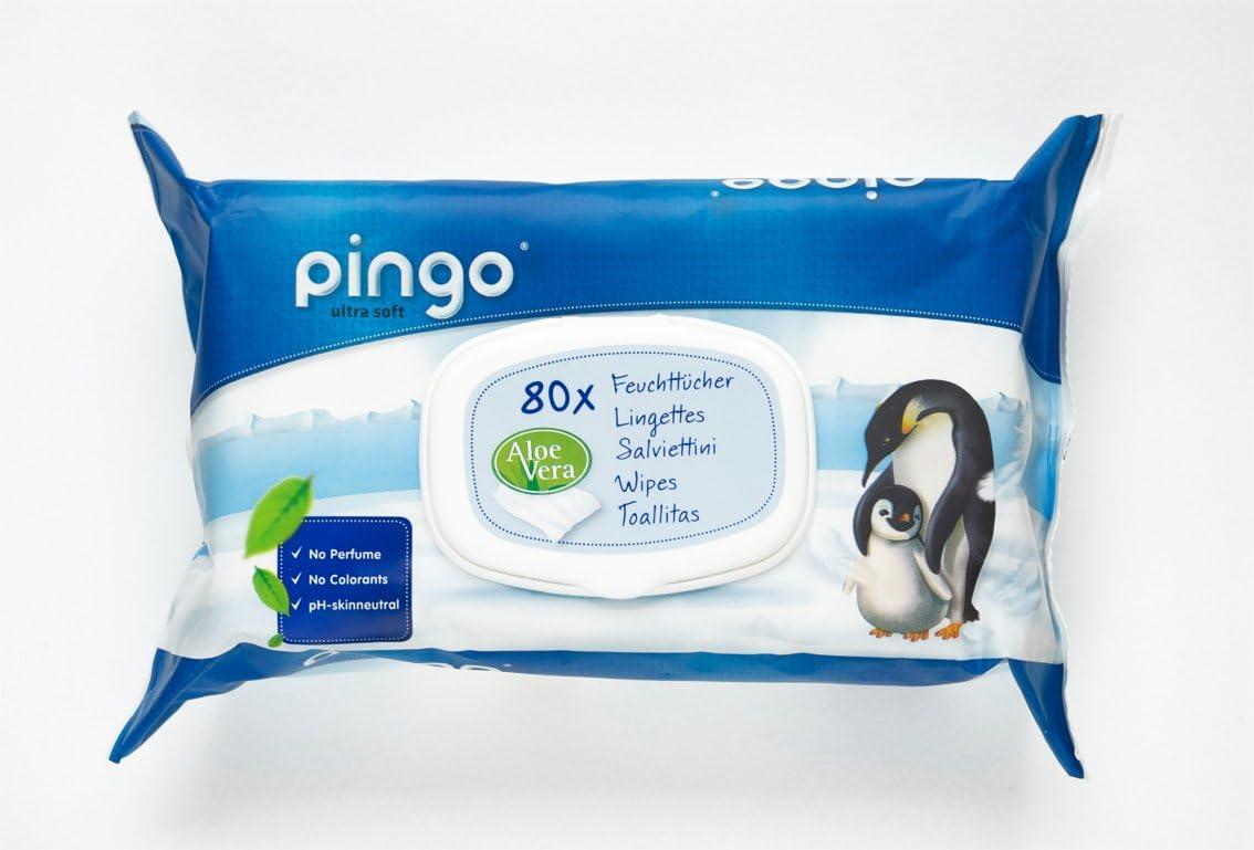 Salviette per beb/è Pingo 12 confezioni da 80 pezzi