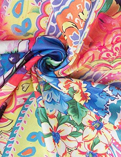 Bei Floreali Cintura Vestiti Dal Abiti Abiti Cindere Modello Blu Vestito Con Fiore Floreali dEqCdwf