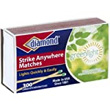 Diamond Green Light Strike Anywhere Matches