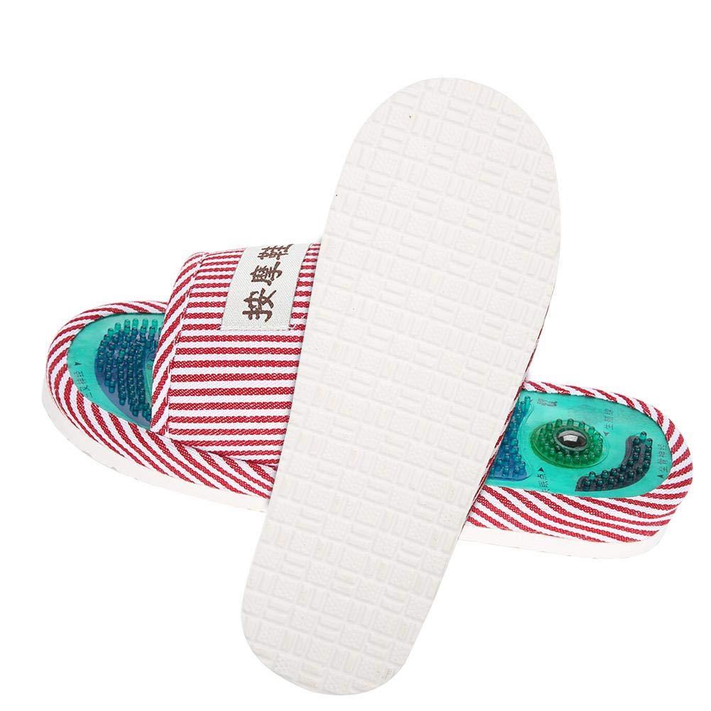 9ff40f1d86a6b Pantofole per massaggio Sano cura del piede Massaggiatore Calzature  magnetiche Magnetico per agopunti