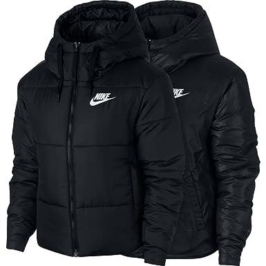save off 226a1 85f62 Nike Short Sport Mäntel Damen Schwarz Daunenjacken