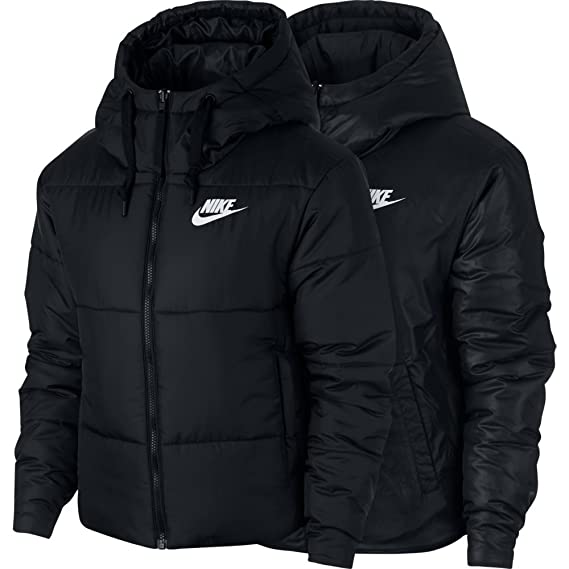 b39d123e13190 Nike Women's Sportswear Reversible Synthetic Fill Jacket Black/White Size  Small