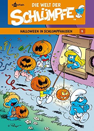 Die Welt der Schlümpfe Bd. 5 - Halloween in Schlumpfhausen (German Edition) -