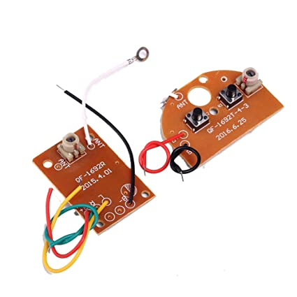 Buy Icstation Simple 2 Channel Radio RC Transmitter Receiver Kit for ...