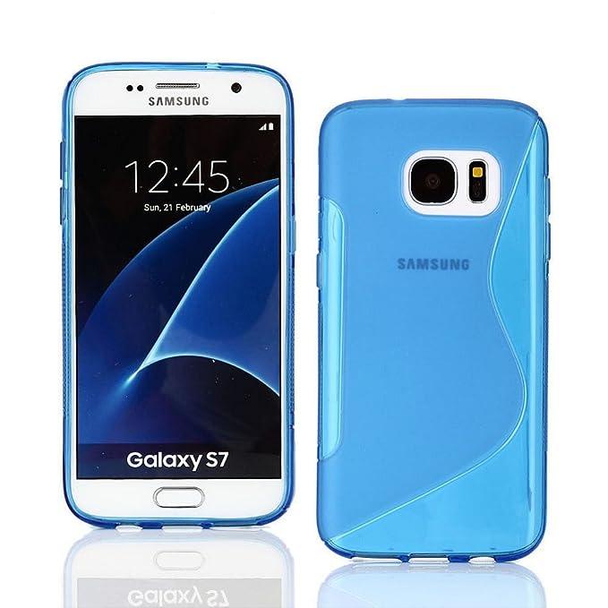 DStores - Carcasa de Silicona para Samsung Galaxy S6/S6 Edge ...