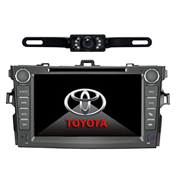 61wLpgxJdTL._SY355_ amazon com car stereo for toyota corolla (support year 2007 2008  at readyjetset.co