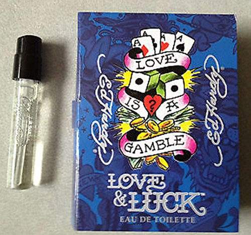 ED HARDY LOVE & LUCK by Christian Audigier EDT SPRAY VIAL ON CARD MINI ()