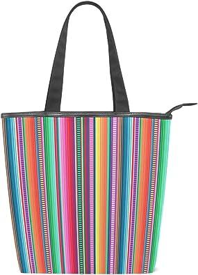 Mnsruu Grand sac à main en toile, sac de plage, sac de