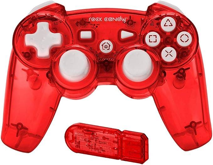 PDP - Mando Wireless Rock Candy, Color Rojo (PlayStation 3): Amazon.es: Videojuegos