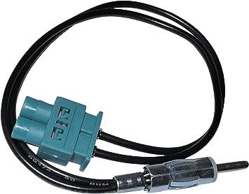AERZETIX: Cable Adaptador de Antena autoradio Doble FAKRA-DIN para Coche C4556