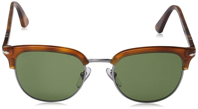 bacc58692d1a04 Persol Persol 3105S 96 4E Terra di Siena 3105S Retro Sunglasses Lens  Category 2 Lens M  Amazon.in  Clothing   Accessories