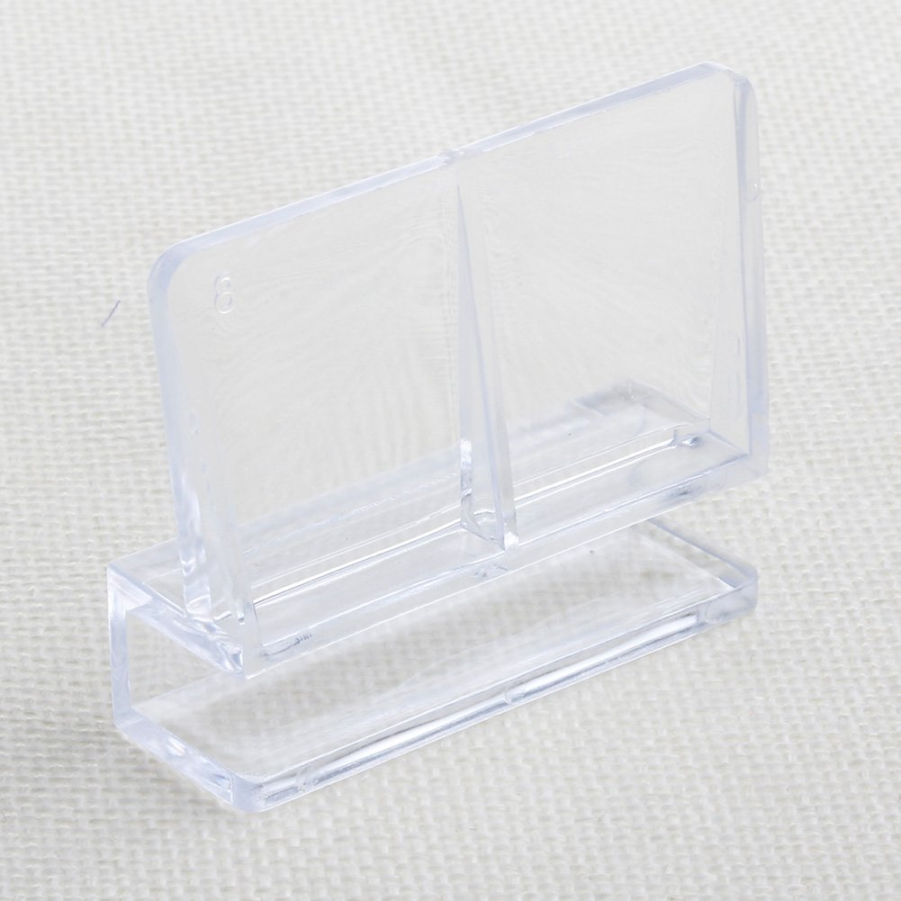 Forgun 6mm Aquarium Fish Tank Acrylic Clips Glass Cover Support Holders 1Pc by Forgun (Image #4)