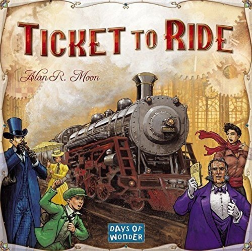 Days of Wonder Ticket To Ride (Train Ticket)