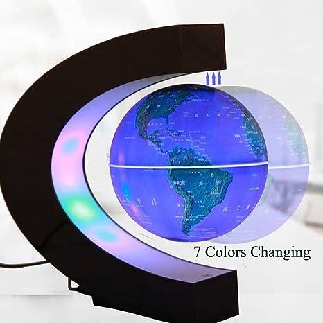 fuzadel Multicolor cambiando levitación globo levitación magnética ...
