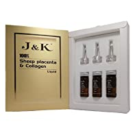 J&K 100% Sheep Placenta Extract and Collagen Anti-Aging Liquid Australian Made