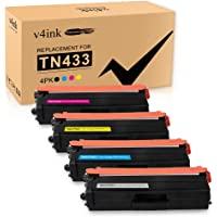 V4Ink Compatible TN-433 TN-431 Toner Cartridge Replacement for Brohter