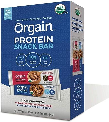 Orgain Organic Protein Bar 12 ct.