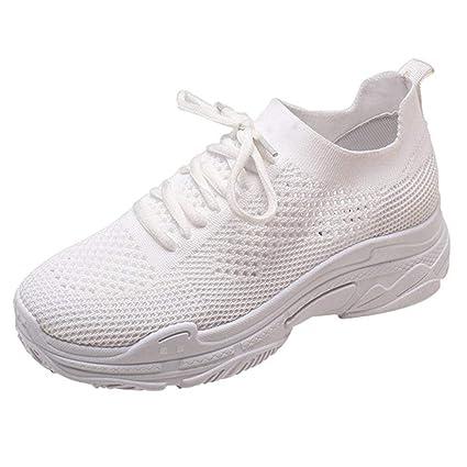 646d08215b HhGold Liquidación Moda Zapatos para Mujer Zapatos Casuales Caminar al Aire  Libre Gimnasio Zapatillas Zapatillas de