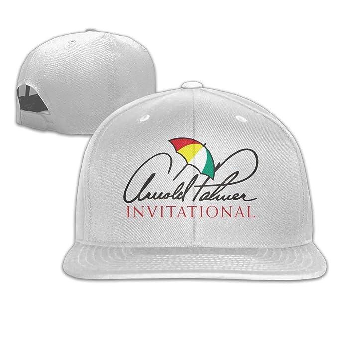 33fd670e Hittings Arnold Palmer Invitational Logo Flat Brim Snapback Cap White:  Amazon.co.uk: Sports & Outdoors