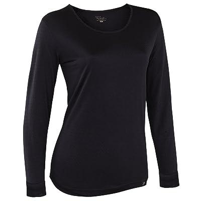 Terramar Women's Thermasilk Scoop-Neck Top: Clothing