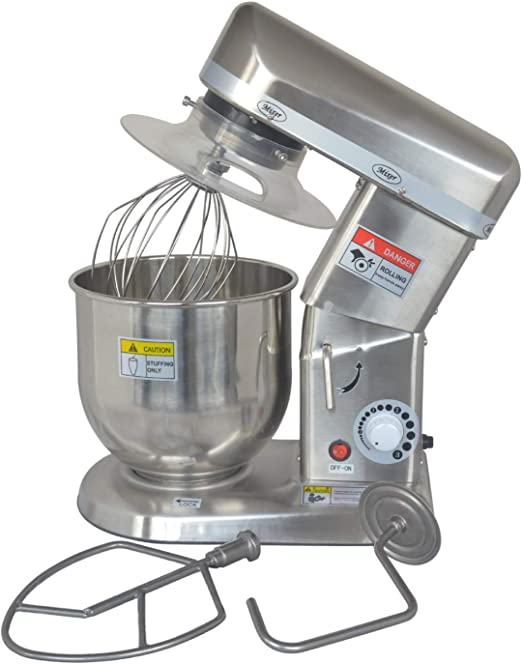 Huanyu Commercial Stand Mixer 3 Speeds