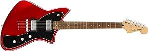 Fender Alternate Reality Meteora Electric Guitar - HH - Pau Ferro - Candy Apple Red
