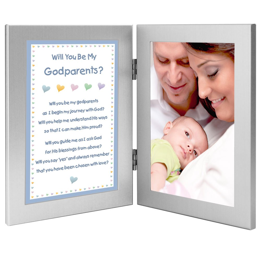 Godmother and Godfather Gift from Godson - Will You Be My Godparents? Add Photo Poetry Gifts poetrygifts-70-835