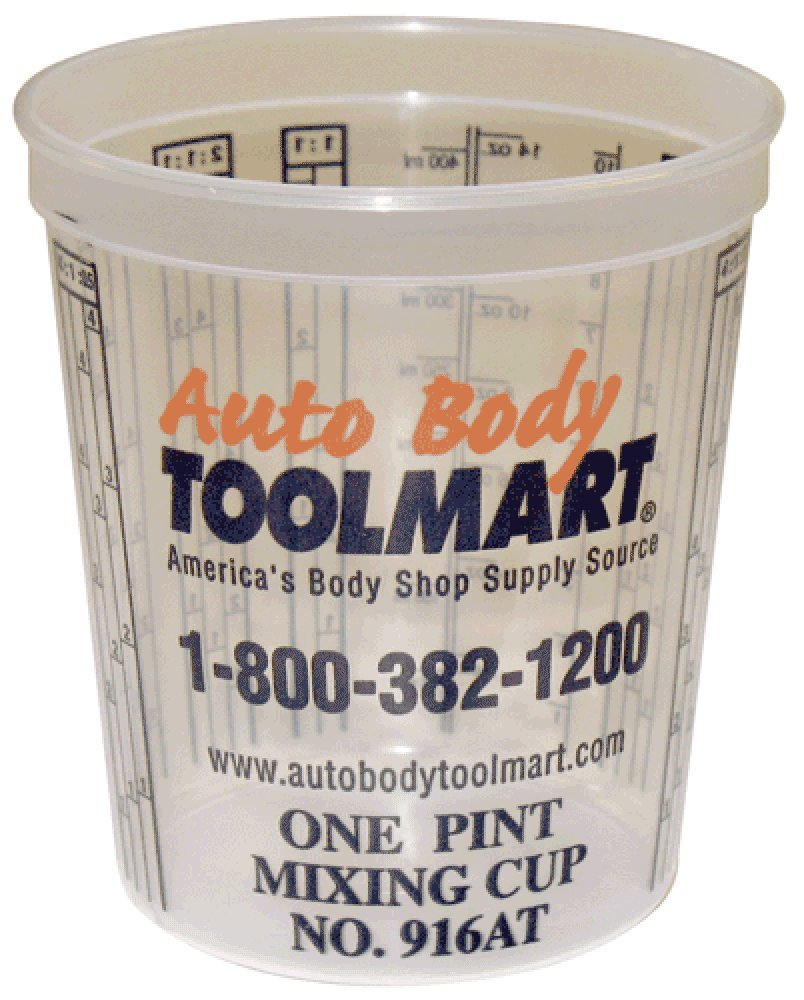 (100) Paint Mixing Cups - Pint by ABTM