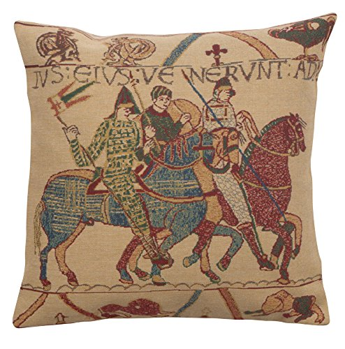 Home Furnishing Cushion Cover - Bayeux Mont St. Michel II Belgian Cushion Cover