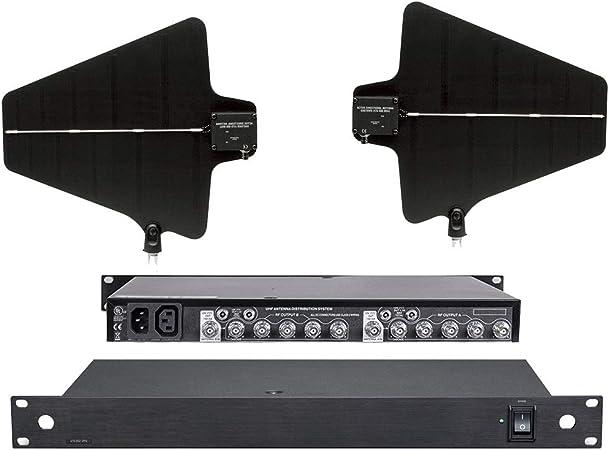 Amplificador de antena de 4 canales divisor de antena 4 ...