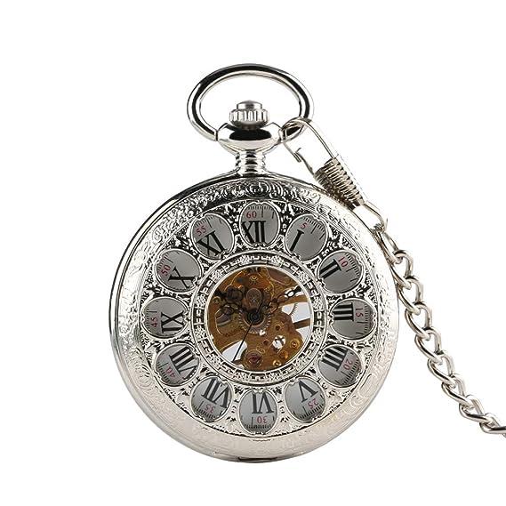 Reloj de Bolsillo mecánico Vintage para niños, Hijo Padre