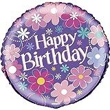 "18"" Foil Blossom Birthday Balloon"
