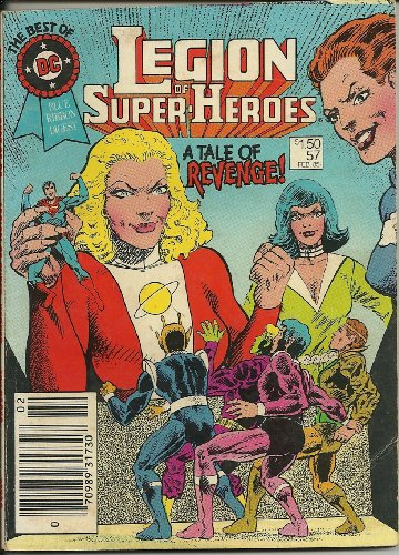 The BEST OF DC : LEGION of SUPER-HEROES # 57